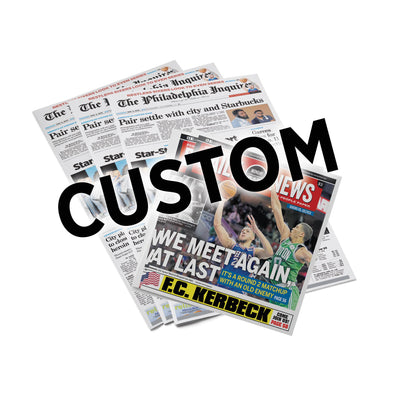 Custom Back Issue - Philadelphia Inquirer & Daily News