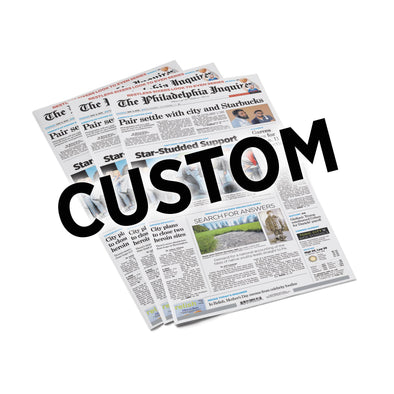 Custom Back Issue - Philadelphia Inquirer