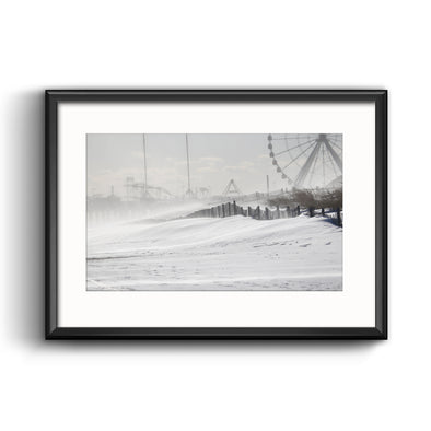 2018 Bomb Cyclone Framed Print with Mat