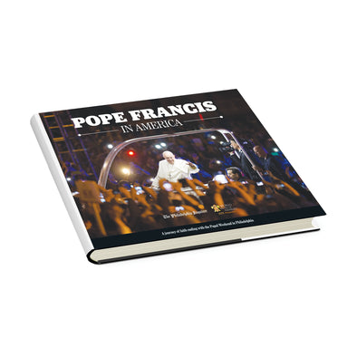 Pope Francis in America Cover on its side
