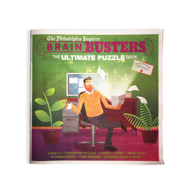 Brain Busters: The Ultimate Puzzle Book (2020)