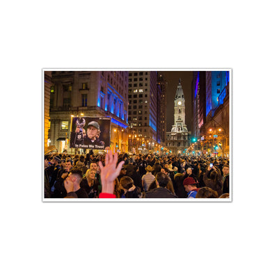 Broad Street Celebration Unframed Print