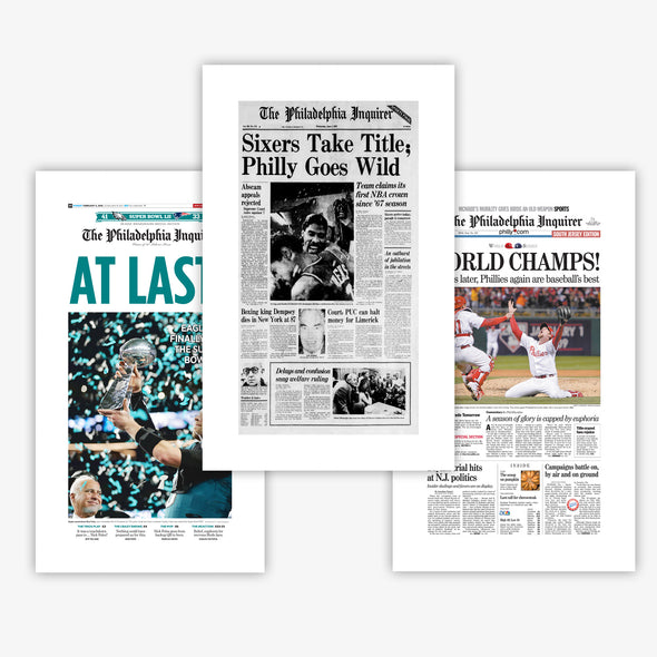 Philly Sports Coverage Reprint Set