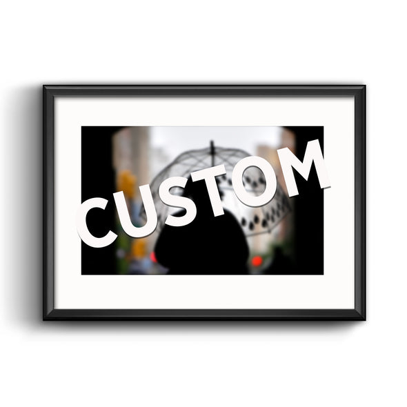 Custom Photo Reprint Framed with Mat