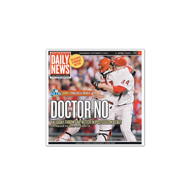 "Daily News Sports Commemorative Page - ""Doctor No"" Unframed Print"