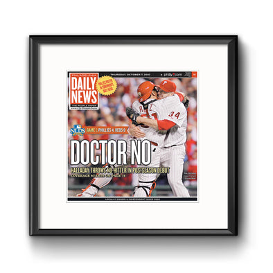 Daily News Sports Commemorative Page - Doctor No Framed Print with Mat