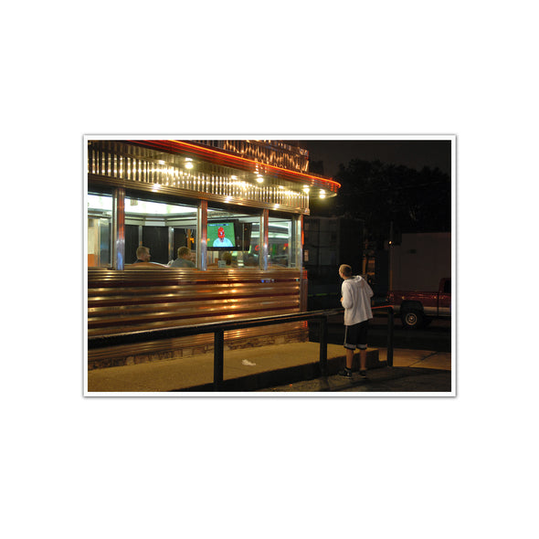 Diner Phanatic Unframed Photo Print