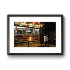 Diner Phanatic Framed Photo Print