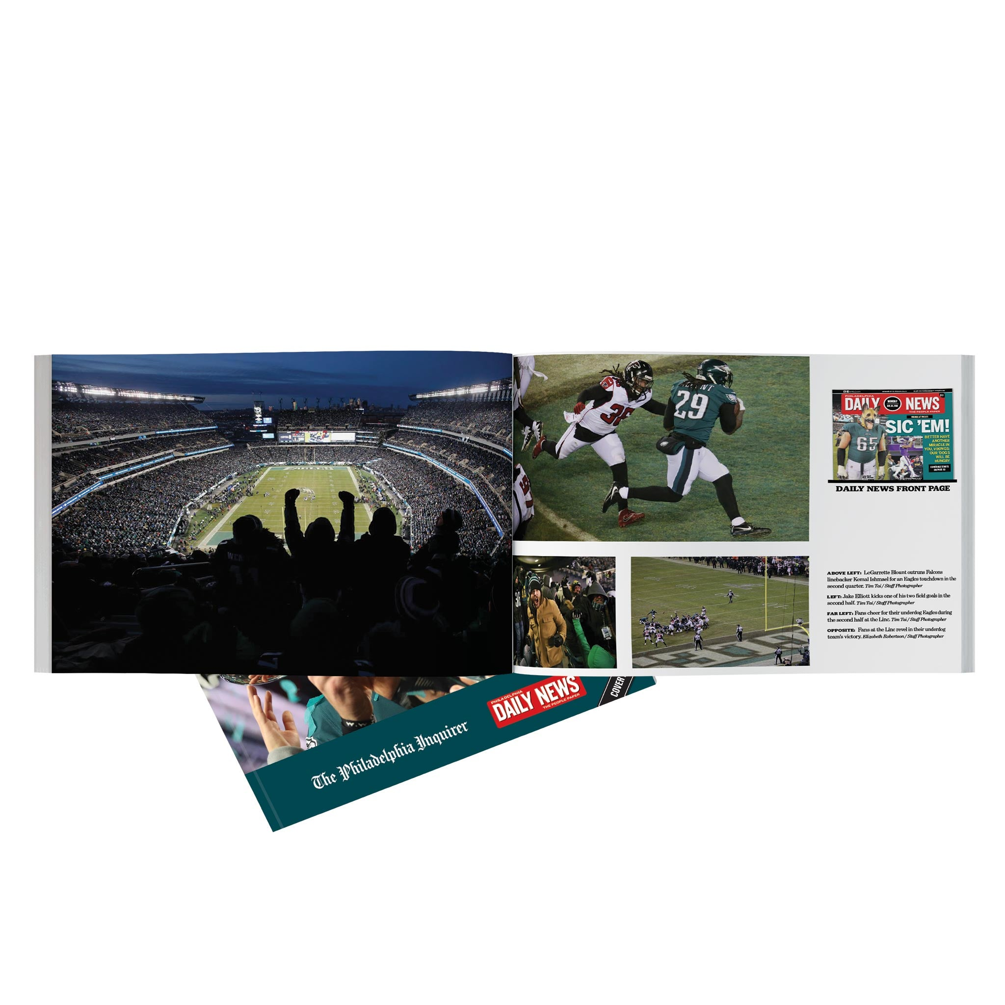 buy online e423e 5b45a E-A-G-L-E-S! The Team that Finally Gave Philly its Super ...