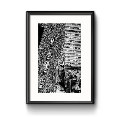 Flyers Parade Framed Print with Mat