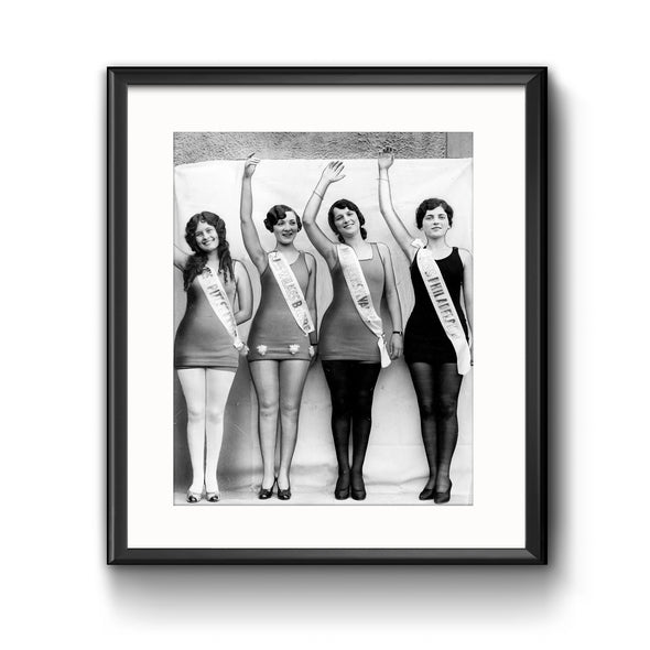 Four Daughters of Pennsylvania Framed Print with Mat