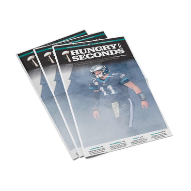 "Philadelphia Eagles ""Hungry for Seconds"" Back Issue Inquirer September 5, 2018 - Preview Section"