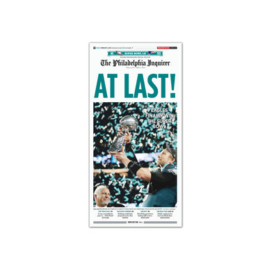 Philadelphia Inquirer Feb 5 2018 Super Bowl Back Issues