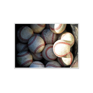 Collection of Baseballs, Unframed Print by Tom Gralish