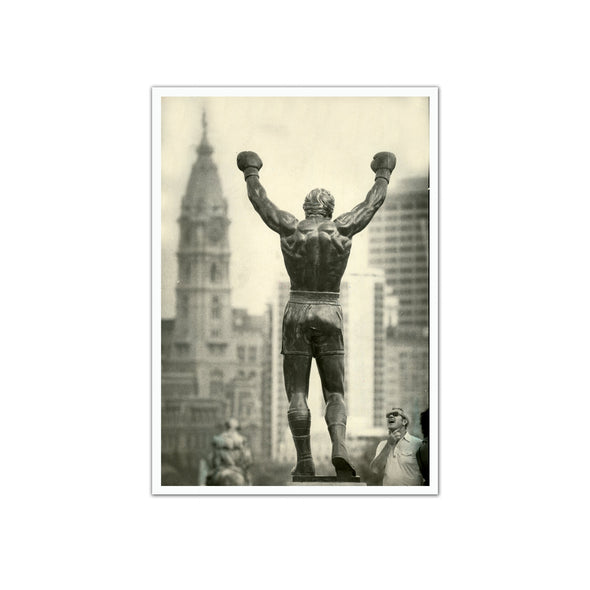"""The Rocky Statue"", Unframed Print"