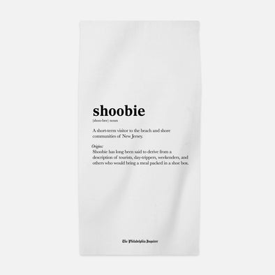 """Shoobie"" Beach Towel"