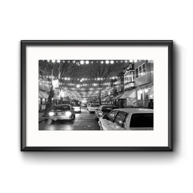South Philly Lights Framed Photo Print