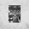 """South Philly Lights"" Greeting Card, by Michael S. Wirtz on Marble Background"