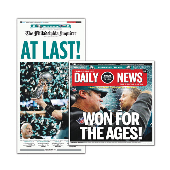 Philadelphia Inquirer Daily News Feb 5 2018 Super Bowl Back Issues