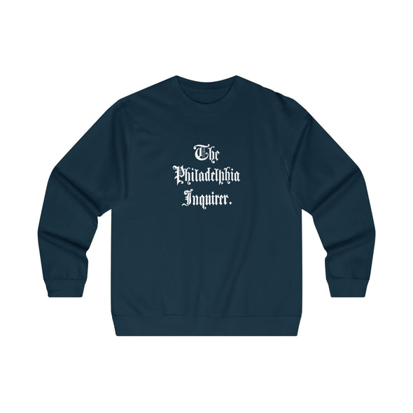 Navy 1862 Crewneck Sweatshirt with white masthead on front