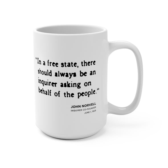 free state norvell quote mug right