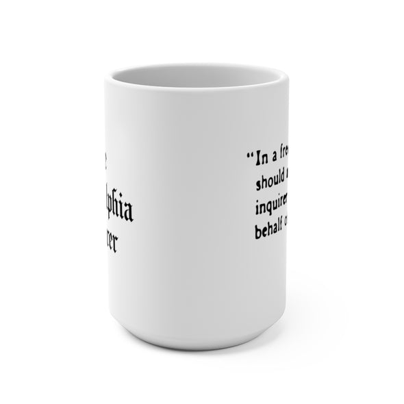 free state norvell quote mug front