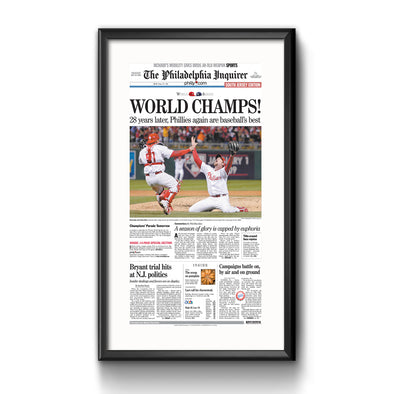 World Champs! Framed Reprint