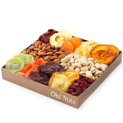 Oh! Nuts - Nut and Dried Fruit Gift Tray