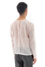 Clear Seam Top in Clear Salmon