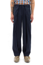 Extra Wide Sarong Pants in Navy