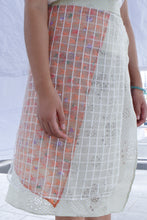 Motorbike Skirt in Transparent Orange