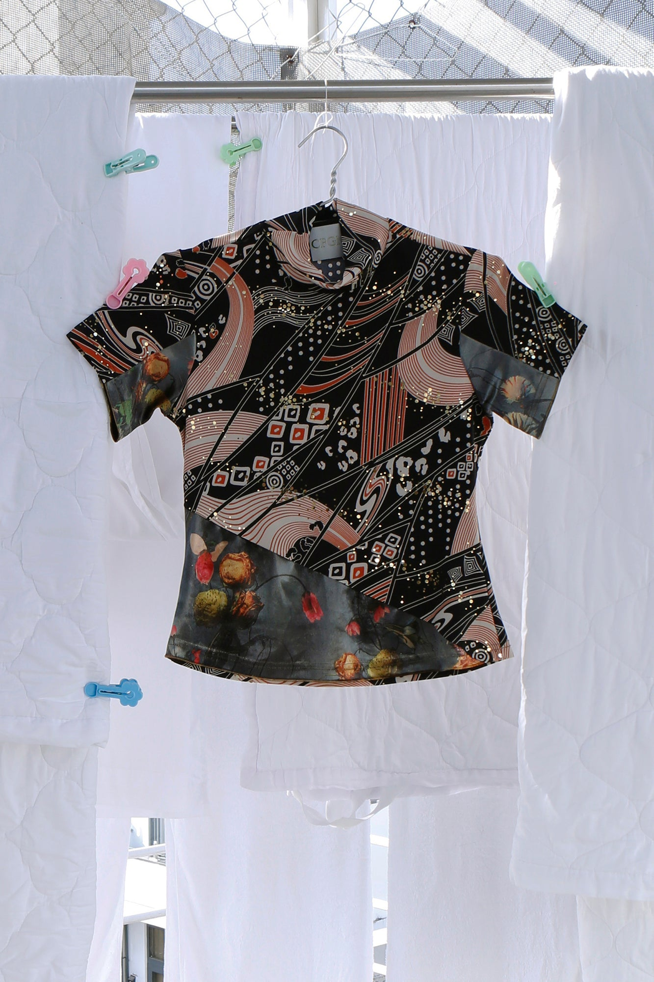 T-Shirt in Galaxy Print