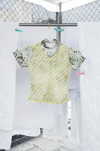 T-shirt in Green Floral