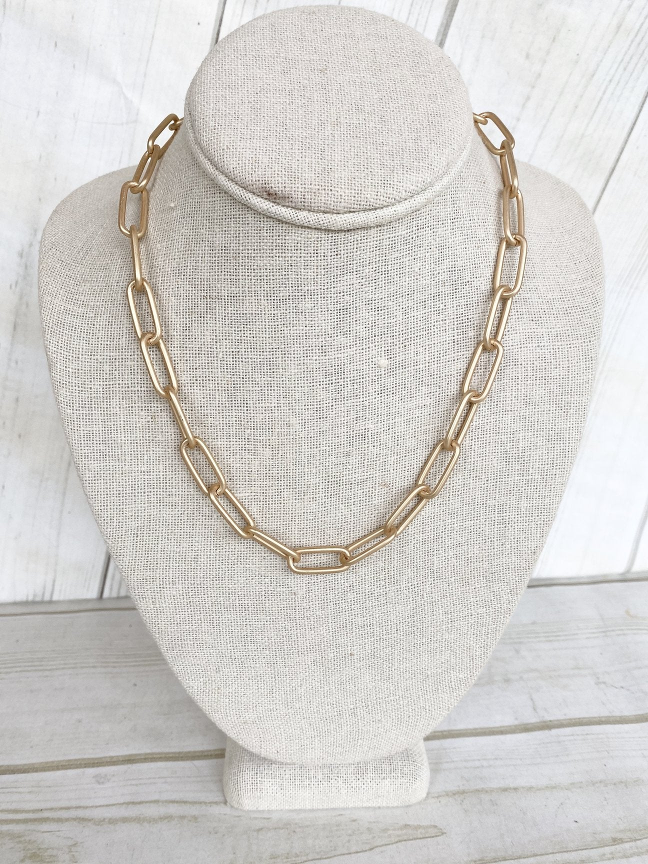 "18"" XL Paperclip Necklace"