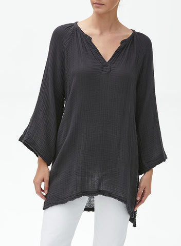 Linen Pocket Front Button Down
