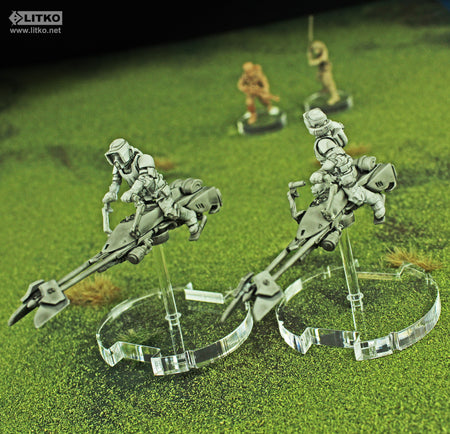 New LITKO -Thick- Flight Bases Compatible with the SW: Legion System