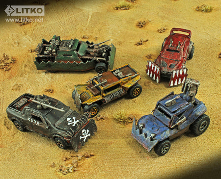Turning Toy Cars into Combat Vehicles for Gaslands