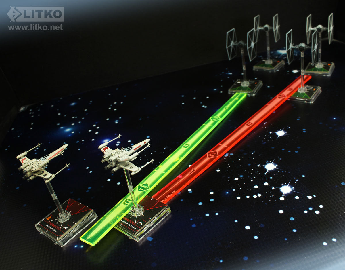LITKO Space Fighter 2nd Edition Range Ruler Set - GMG278