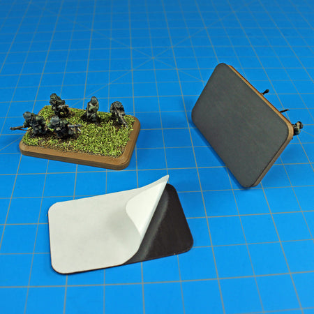Rounded Corners on Miniature Bases