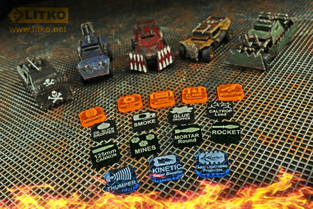 Expand your Ammo with LITKO Gaslands Ammo Tokens
