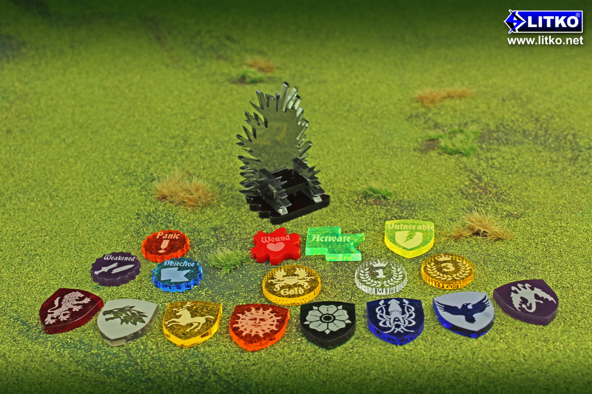 LITKO products compatible with Game of Thrones themed games