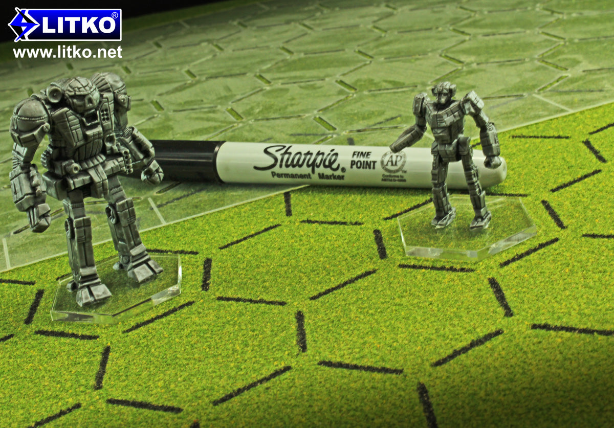 New Stencils & Wargame Counter Stands