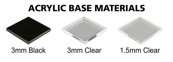LITKO Clear Acrylic Base Options
