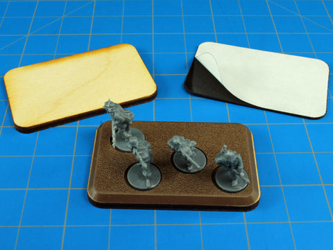 Add height / thickness to FoW-style bases with LITKO bases.