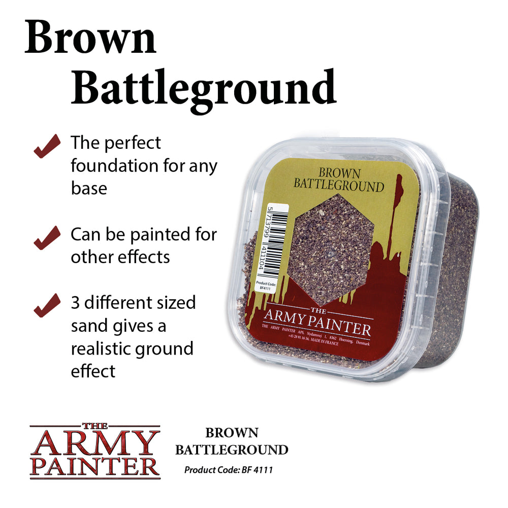 Brown Battleground - LITKO Game Accessories