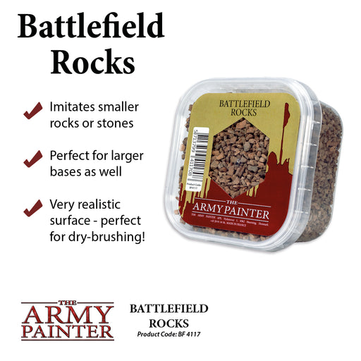 Battlefield Rocks - LITKO Game Accessories