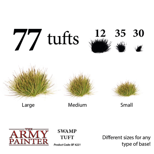 Battlefields: Swamp Tufts - LITKO Game Accessories