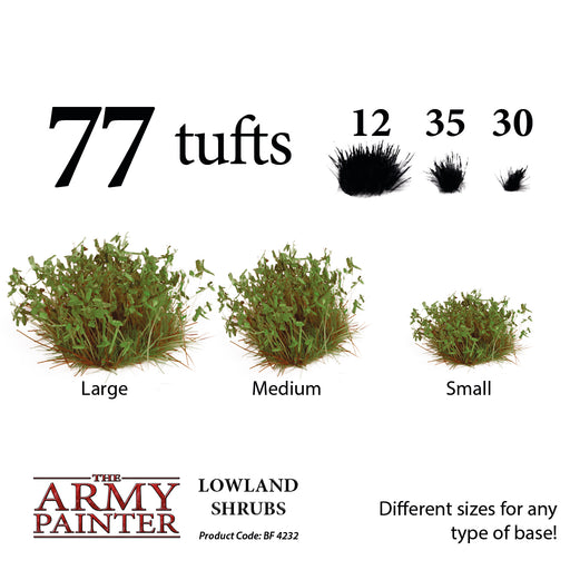 Battlefields: Lowland Shrubs - LITKO Game Accessories