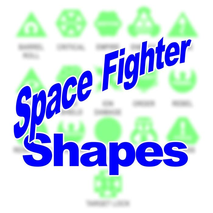 LITKO Personalized Space Fighter - Game Tokens (10) - LITKO Game Accessories