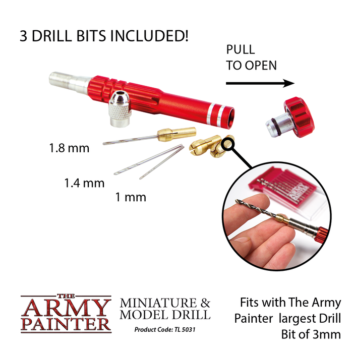 Miniature and Model Drill - LITKO Game Accessories